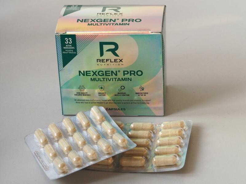 Recenze NexGen PRO od Reflexu. Skutečně účinný multivitamínový doplněk