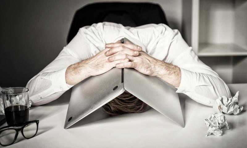 Syndrom vyhoření přichází pomalu aještě pomaleji odchází + online test
