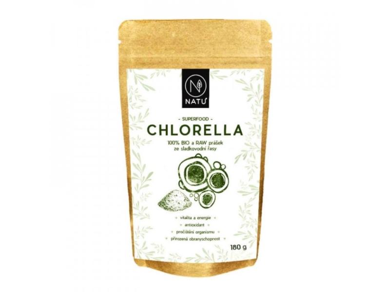 NATU – Chlorella BIO prášek